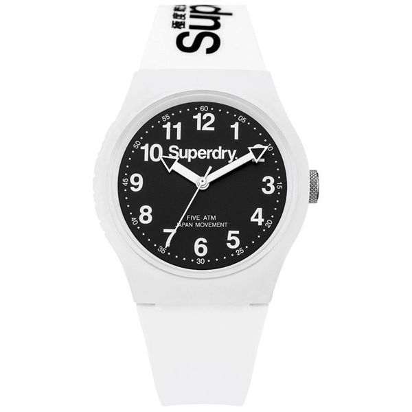 Superdry Urban White and Black watch