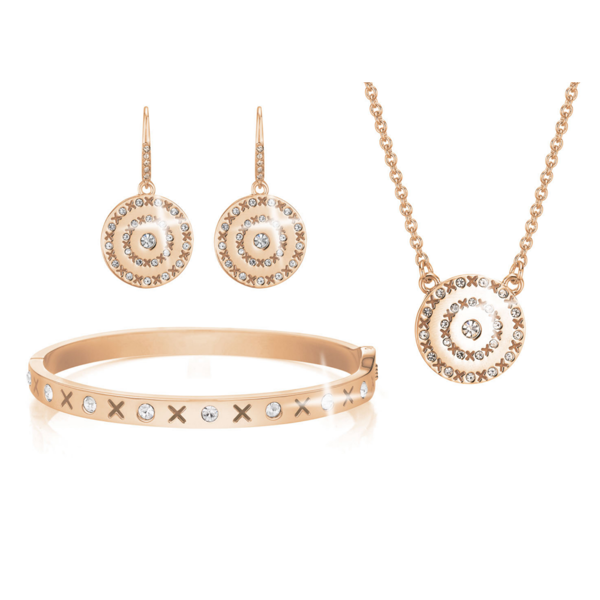 Image sur Lumley Pendant, Earring  and Bangle Set